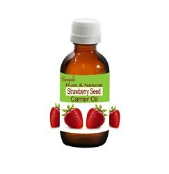 Bangota Strawberry Seed Fragaria Ananassa Pure And Natural Cold Pressed Oil