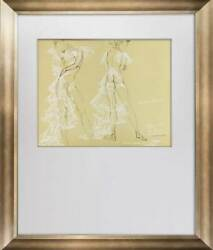 Salvador Dali Limited Edition Lithograph No. 250 Sign Gala W/frame Included