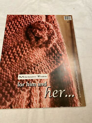 Mission Falls For Her And Flip Over For Him Knit Pattern Book $8.00