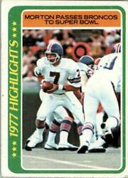 1978 Topps Football Pick Card From List C138