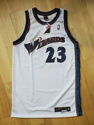 Michael Jordan Wizards Nike Size 50+4 Length Pro-cut Jersey New With Tags 2001
