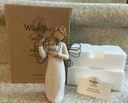 2005 Willow Tree 'just For You' 'thank You' Demdaco Angel 5 1/2 Free Shipping