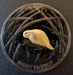 2019 Australia Echoes Night Parrot Nickel-plated Pf 5 Coin Gem Proof