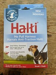 Halti Front Control Gentle Training Harness-Stops Pulling-Size Small-Black