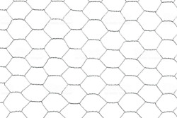 48 X 150and039 X 2 Galvanized Poultry Net - Metal Mesh Fencing / Chicken Wire