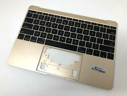 Gold Top Case + Keyboard Palmrest 12 Apple Macbook Retina A1534 Early 2015 Only