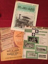 Lot Of 3 Collectible Vintage Farm And Ranch Catolog Magazines 1951 1958 1968