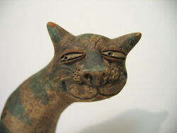 Handmade Toy Whistle Cat Clay