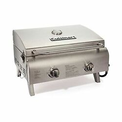 Adjustable Light Portable Powerful Stainless Steel Propane Grill Burner Camping