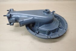 Geared Avco Lycoming Igso 480 Engine Part Intake W/ Super Charger Back Plate