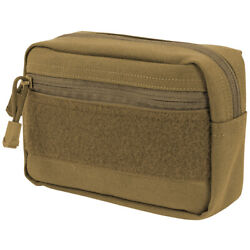 Condor Compact Utility Pouch Holder Webbing Molle 1000d Polyester Coyote Brown
