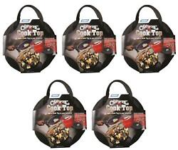 Camco 58033 Fire Pit Cook Top Little Red Campfire Tm 5 Pack