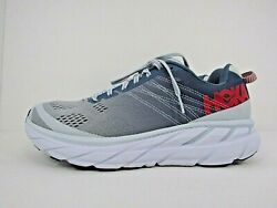 WOMEN'S HOKA ONE CLIFTON 6 size 9.5 ! RUNNING SHOES! WORN LESS THAN 15 MILES!