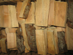 Apple Wood Chunks For Smoking, Grilling, 3 To 4 Inches Long, 5lbs. Free Shipping