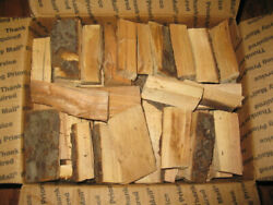 Apple Wood Chunks For Smoking, Grilling, 3 To 4 Inches, 8lbs. Free Shipping