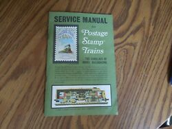 Aurora N Scale Service Manual For Postage Stamp Trains