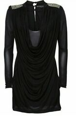 Kate Moss Topshop Slinky Dress With Studded Back Detail. Rare Size 6. Used Once