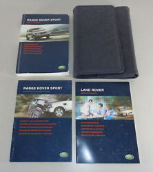 Document Kit + Manual Owner's Manual + Wallet Range Rover Sport Stand 2005