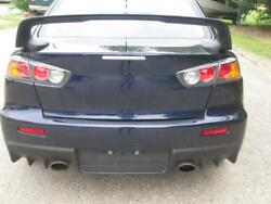 2014 Mitsubishi Lancer Evo X Gsr - Rear Clip Top And Tail Section - Roof Spoiler