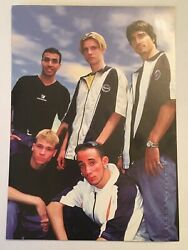 Backstreet Boys - Xl Rectangle Sticker Decal Roughly 4x6 Circa 1990and039s