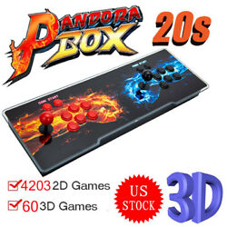 New Version Pandora's Box 20s 4263 In 1 Video Arcade Conslose Machines Gifts Us