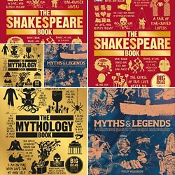 The Mythology Book Myths And Legends The Shakespeare Book Collection Gift Set