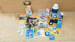 Fishing Gear Mixed Lot Reels Lures Etc Etc New And Used.