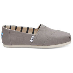 TOMS Women's The Venice Collection Shoes Morning Dove Heritage Canvas