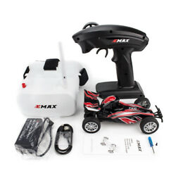 Emax Interceptor 1/24 2.4g Rwd Fpv Rc Car With Goggles Full Proportional