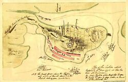 Revolutionary War - Charles Town Action June 17th - Page 1775 - 23.00 X 35.98