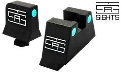Tall Night Sights For Suppressor Fits All Glock Models And Gen G17 G19 G44 Mos