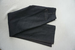 7 For All Mankind Women's Jeans High Waist Stretch Trousers W26 L34 Dark Blue C4