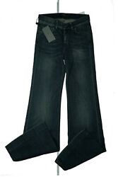 7 For All Mankind Ladies Bootcut Flare Stretch Jeans Pants W25 L36 Blue New GS5