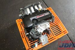 Toyota Altezza Sxe10 Rs200 Is200 Beams Vvt-i Engine Free Shipping Jdm 3s-ge 1
