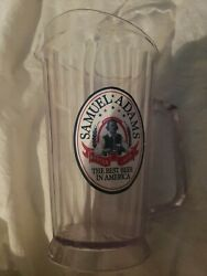 Samuel Adams Boston Mass. Lager Pitcher Old Style Used Taps Keg Cave Hops...