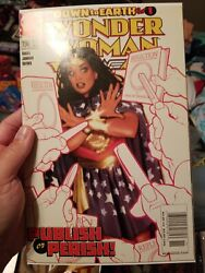 Wonder Woman 196 , 2003 Super Rare Newsstand Edition In Nm Condition