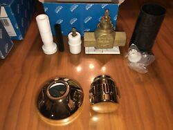 Grohe 29267r00 3/4 Polished Brass Volume Control With Grip Handle