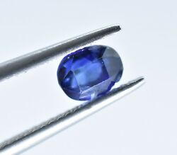 Natural 1.48 Cts Royal Blue Unheated Old Sapphire