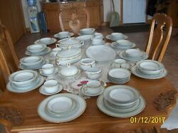 Heinrich And Co. Selb Bavaria Imperial Vtg. Porcelain China 77 Piece Grouping