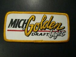 Michelob Golden Draft Light 4.5 Patch Sew On Craft Beer Brewing Brewery
