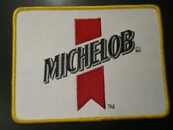 Michelob Light Golden Classic Vintage 7 Patch Sew On Craft Beer Brewing Brewery