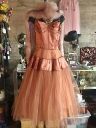Vintage 1950andrsquos Prom Or Party Dress