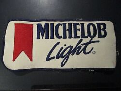Michelob Light Golden Classic Vintg 8.5 Patch Sew On Craft Beer Brewing Brewery
