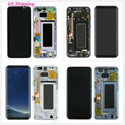 USA For Samsung Galaxy S8 Plus G955 LCD Display Screen Digitizer with Frame B $134.96