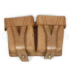 Mosin-nagant 91/30 Ammo Pouch Marked And Dated Original Genuine Leather