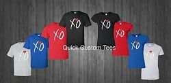 The Weeknd Xo T-shirt Nice Cool New Design Multi Colors Music Bands Songs