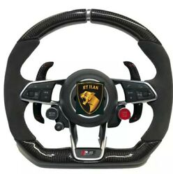 Audi R8 4s Carbon Steering Wheel Real Carbon Made In Germany .