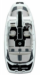 New Hydro-turf Interior Mats For Sea Doo Challenger 230 Black Cut Groove Sd18