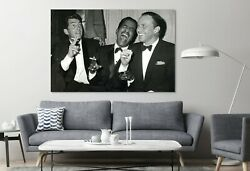 The Rat Pack A Lot Of Fun Canvas Classic Wall Design Painting Canvas Print Art