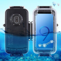 131 2/12ft Diving Anti-pressure Anti-explosion + Del Waterproof Case For Samsung